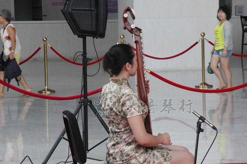 民乐合奏:《紫竹调》、《菊花台》、《喜洋洋》  琵琶独奏:《春雨